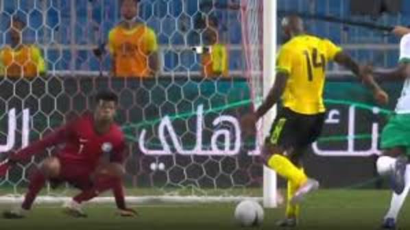 Jamaica beats Saudi Arabia by 2-1