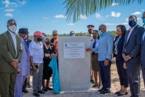 Bahamas PM inaugurates London Creek Bridge to revive aquatic life