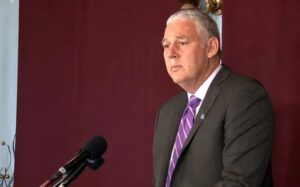 Why SLP claims PM Chastanet as 'Trumpian clone'?