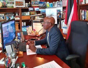 Citizens of Trinidad &Tobago calls PM Rowley 'Lion-Hearted'
