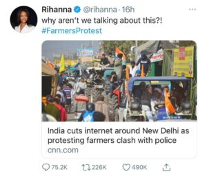 Indian Farmers Protests: Hollywood celebs ignites the spirit all over world