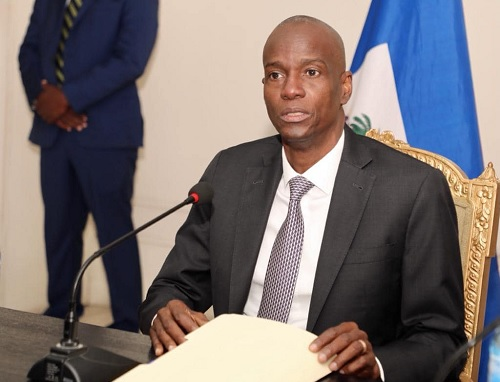 President of Haiti, Jovenel Moise, went to the Department of Justice and Public Safety (MJSP) to chair a crucial meeting of the National Police (CSPN) to eradicate kidnapping, organized crime, and banditry from the nation.
